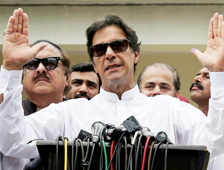 Imran Khan begging for funds worldwide: CM of Pakistan's Sindh province