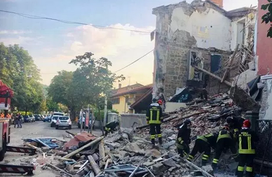 Italy: 3 killed in apparent gas explosion