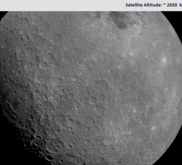 Chandrayaan 2 sends first moon picture