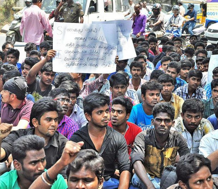 Kathir College of Engineering student's suicide sparks protest